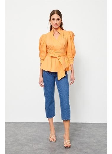 Setre Gömlek Oranj